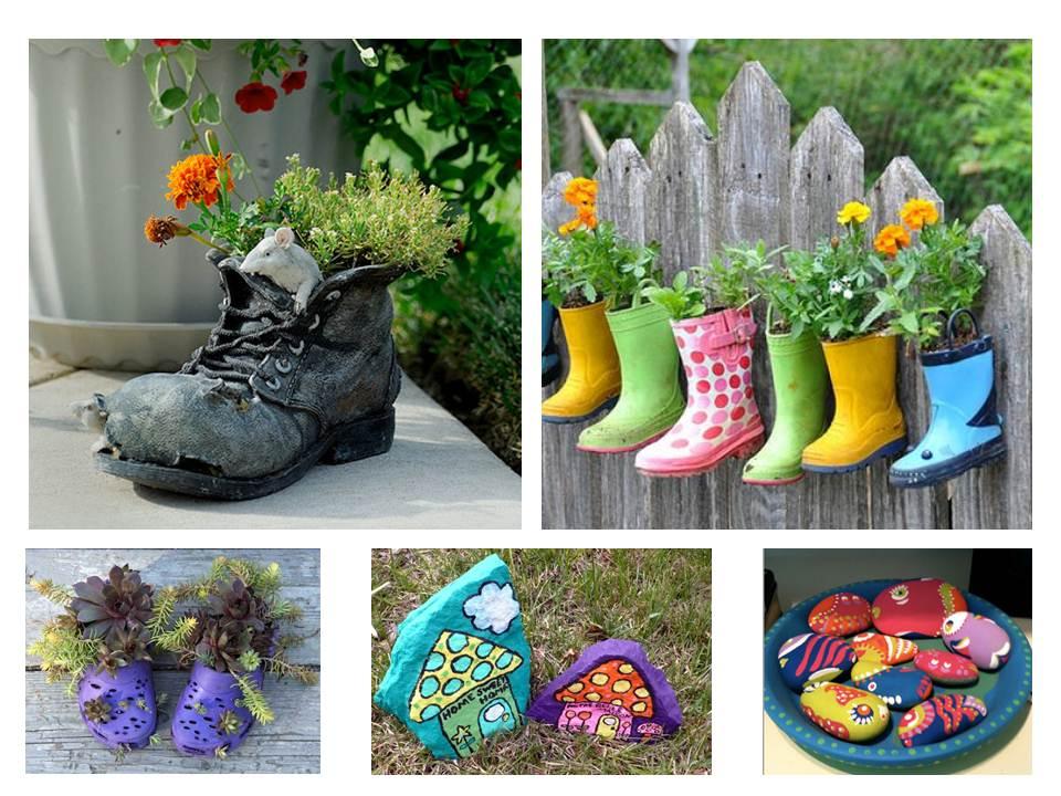 jardins ideias criativas : jardins ideias criativas:Ideas Creativas Para Jardin