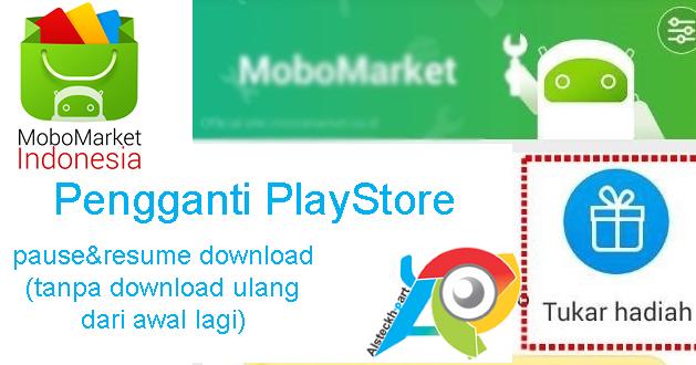 MoboMarket Aplikasi Pengganti PlayStore + Bonus Hadiah