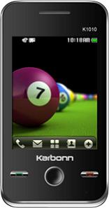 Karbonn K1010 Dual SIM Touchscreen Mobile