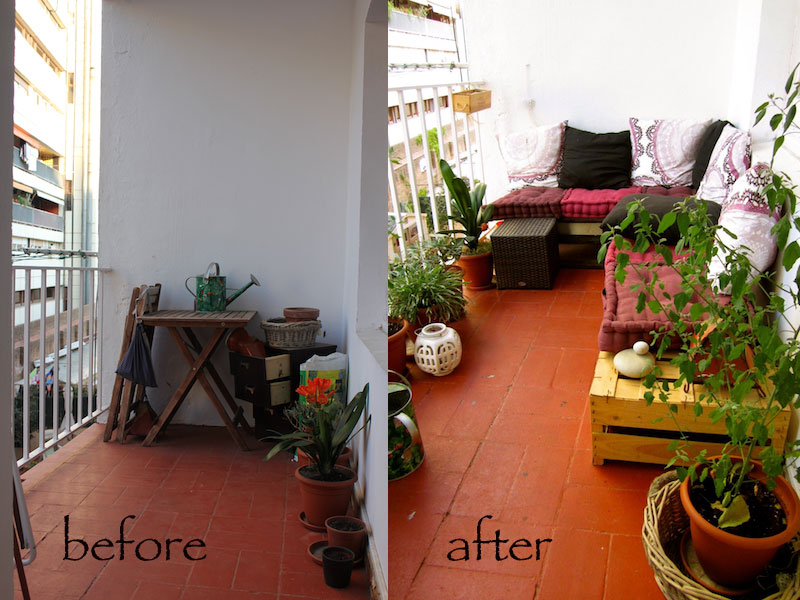 Cansie diy un balc n chill out diy a chill out balcony - Terraza chill out ...