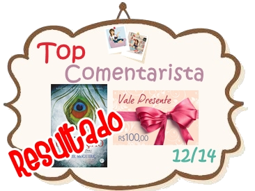 Resultado do Top Comentarista de Dezembro/2014