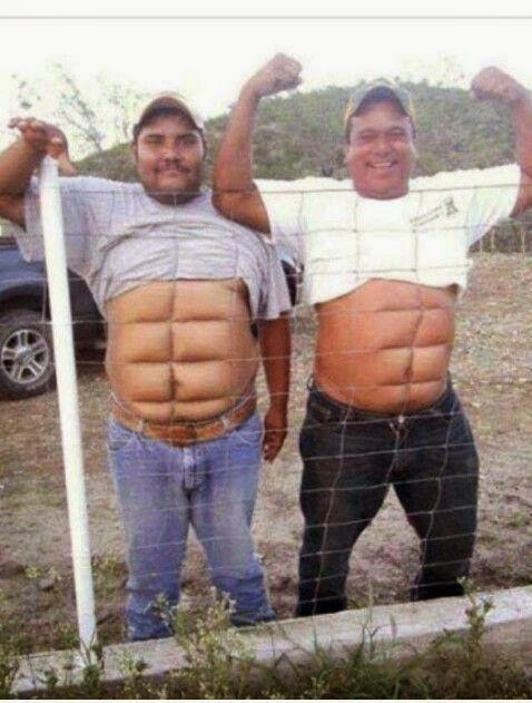 Get 6 Pack ABS In Few Second Funny Photo