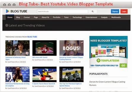 Best 7 youtube video blogger template free download 2014 blogger best 7 youtube video blogger template free download 2014 pronofoot35fo Images