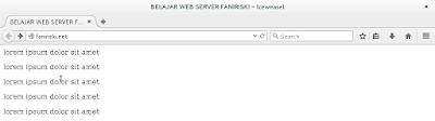 Konfigurasi Web Server Debian 8 (4)