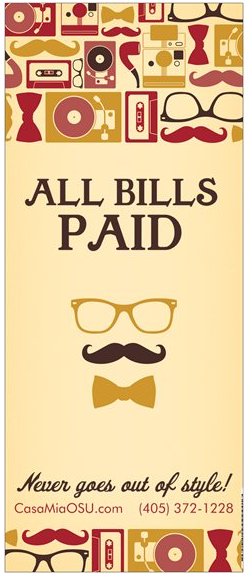 ALL BILLS PAID