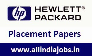 HP Placement Papers