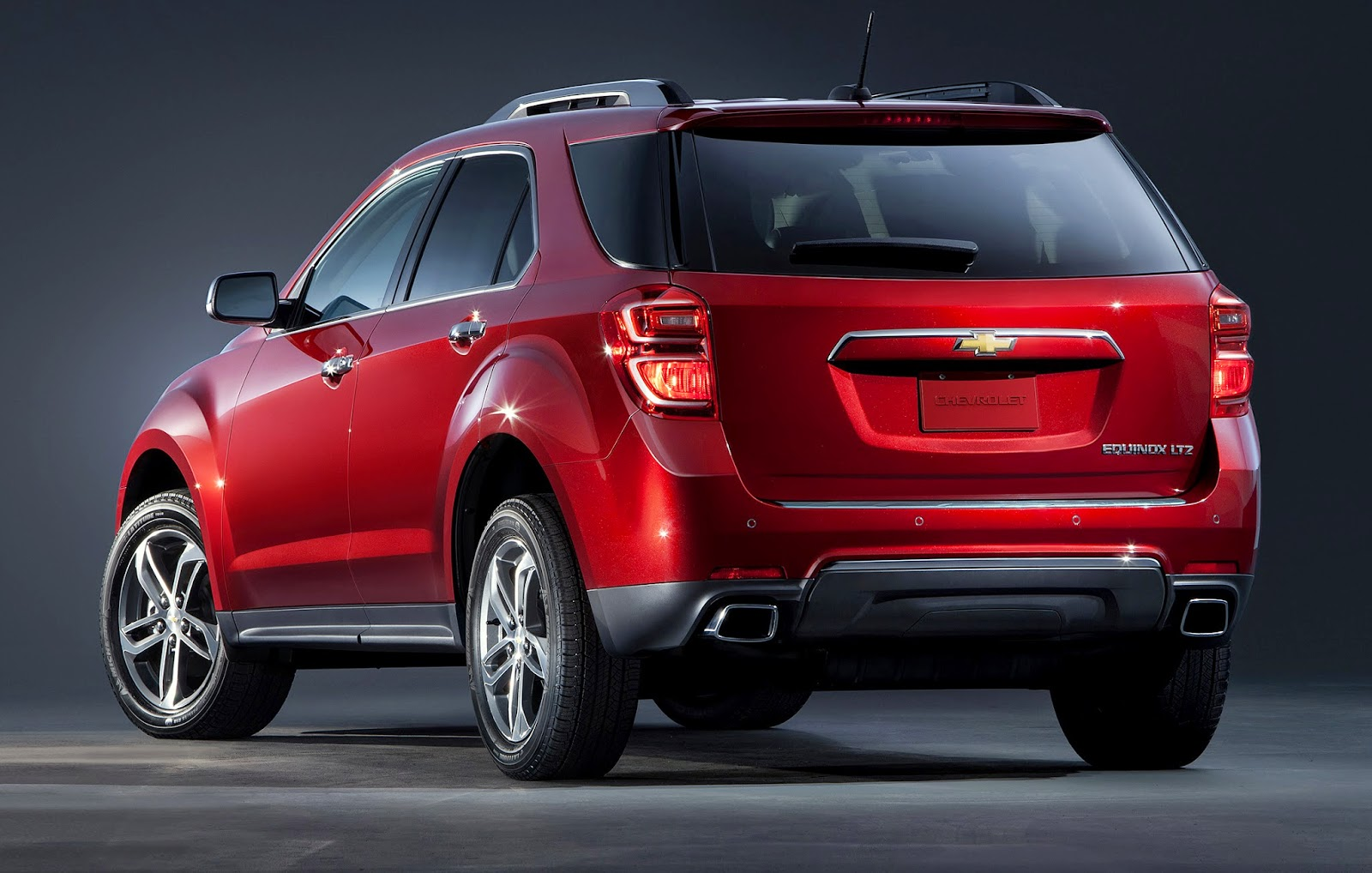 2016 chevy equinox compact crossover gets updated looks and features w videos. Black Bedroom Furniture Sets. Home Design Ideas