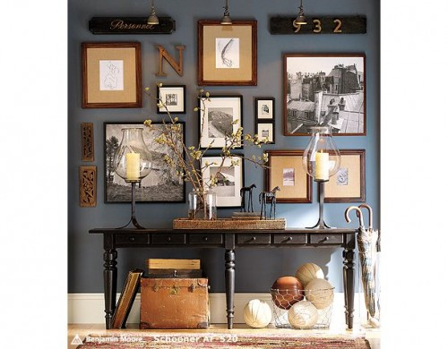 Ideas to use console tables in interior decorating - Decorating console table ideas ...