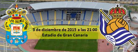 Previa copa del Rey UD Las Palmas - Real Sociedad