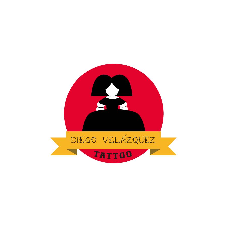 Logotipo Diego Velázquez Tatuajes