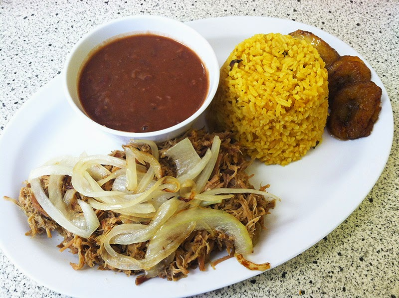 San Juan Lunch Special - Roast Pork