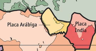 Asia: Geomorfología y Geología