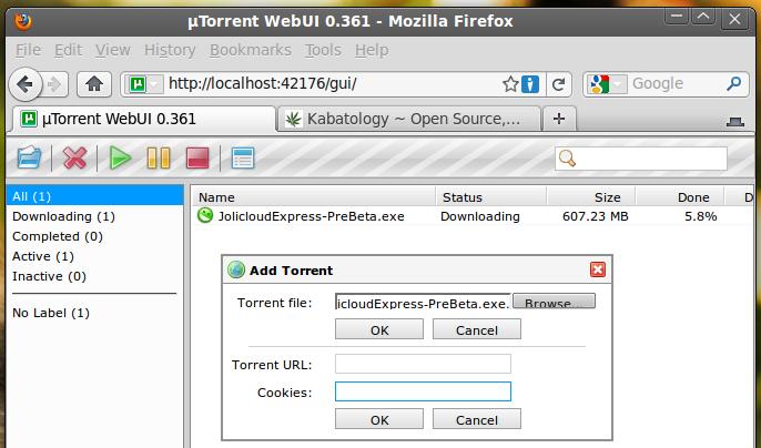 Installing Utorrent Ubuntu
