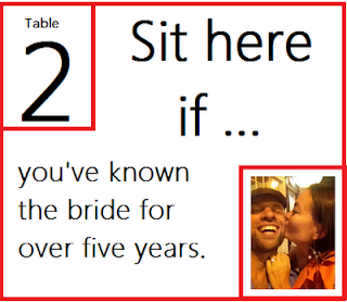 engagement party assigned seats