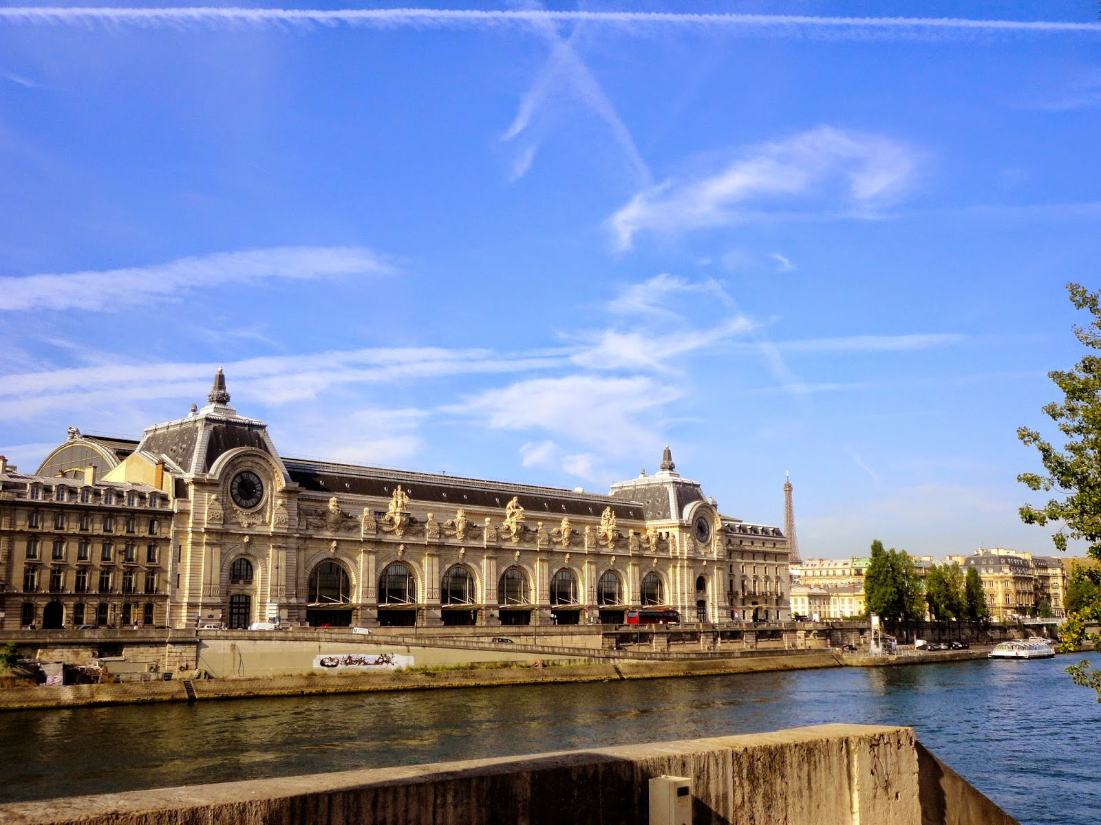 Musee d'Orsay & River Seine, Paris
