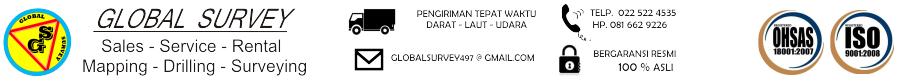 Global Survey Bandung | Jual Alat Ukur | Rental Sewa Alat Ukur Survey | Kalibrasi Service Alat Ukur