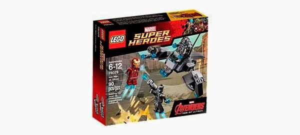 Lego:  Iron Man vs. Ultron