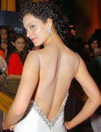 Kangana Ranaut nude Backless photo