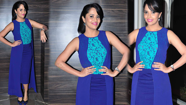 Anasuya Latest HD Stills At Courier Boy Kalyan Audio Launch