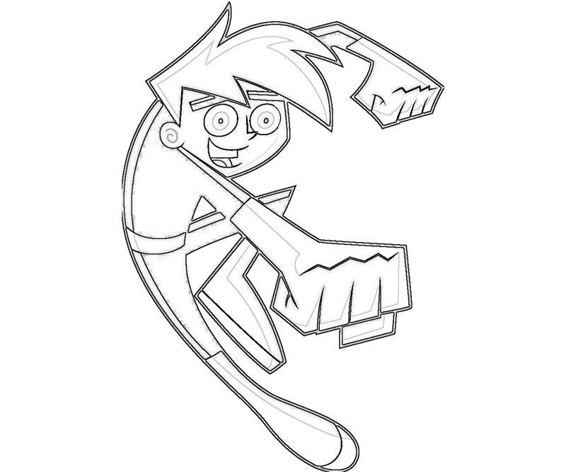 Danny phantom danny phantom smile temtodasas for Danny phantom coloring pages