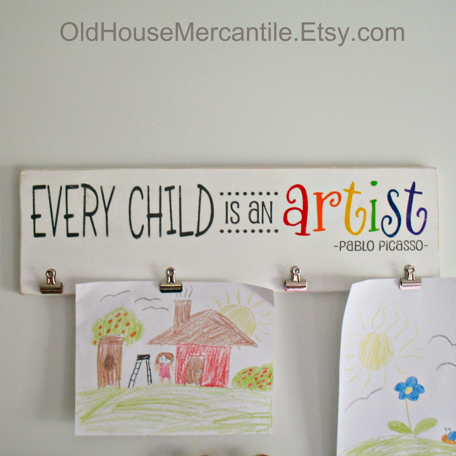 https://www.etsy.com/listing/230965329/every-child-is-an-artist-with-clips