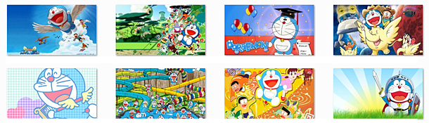 Themes for Windows 7 & Windows 8: Doraemon Theme for Windows 7610