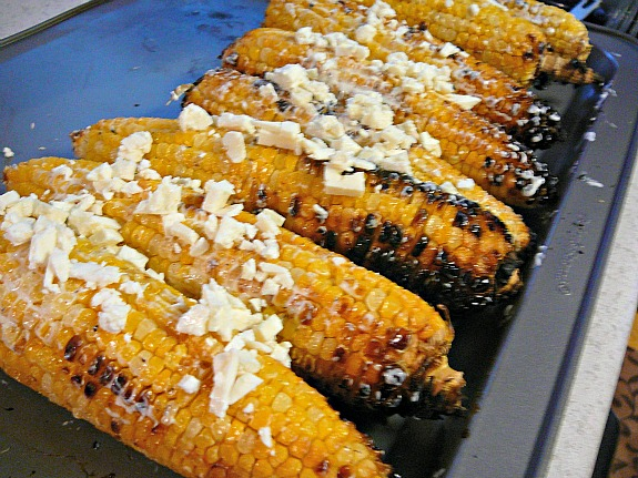 Mostly Food and Crafts: Elote Mexican Corn on the Cob