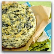 Spinach Artichoke Cheesecake