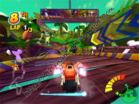 Free Download Games - Crash Team Racing
