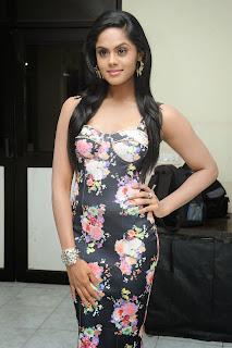 Karthika Nair in FLower Print Dress Lovely Dusky beauty