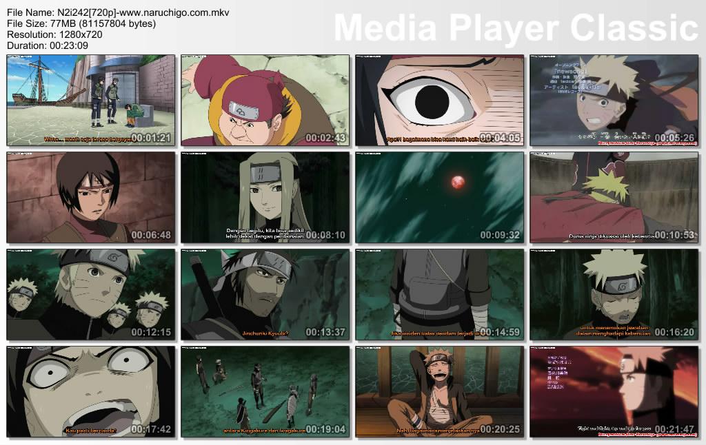 Download Naruto Shippuden Episode 242 Subtitle Bahasa Indonesia