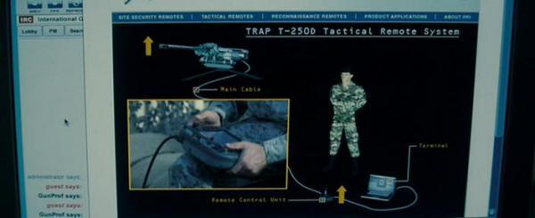 тактическая дистанционно-управляемая система снайперского огня TRAP T250D