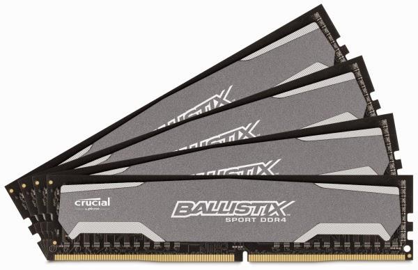 Crucial Ballistix Sport DDR4-2400