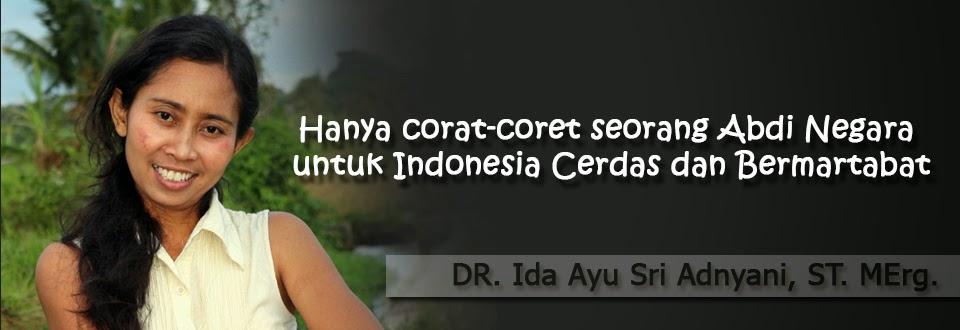 DR. Ida Ayu Sri Adnyani, ST. MErg.
