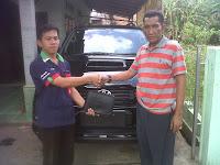 Terima Kasih Pak Junaidin Fortuner G M/T Diesel