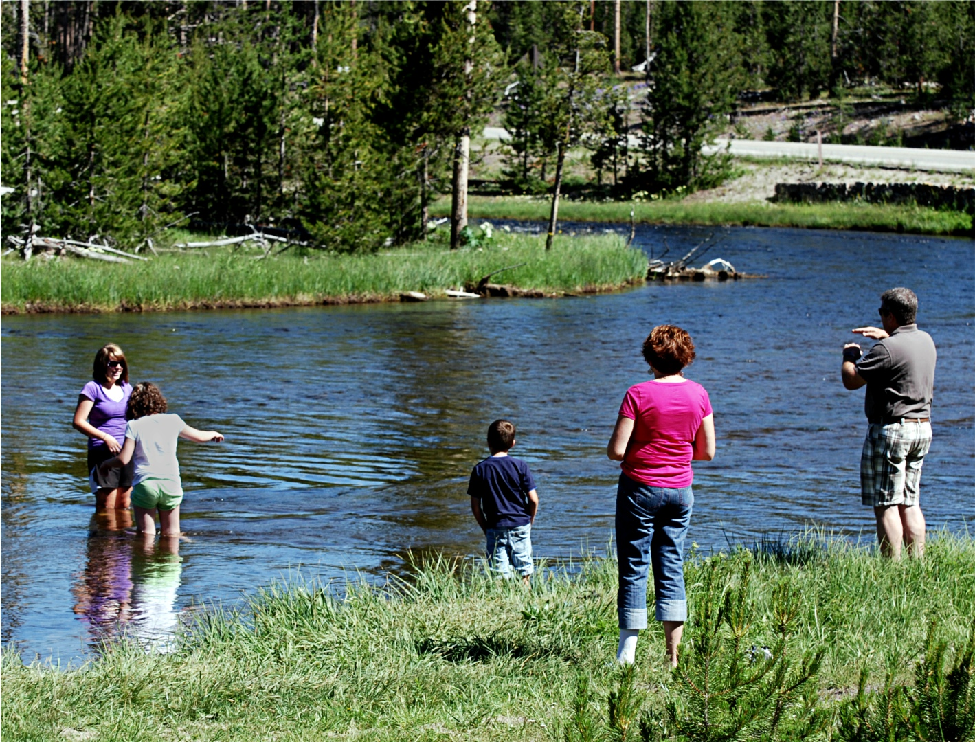 Fly fishing in yellowstone national park takin 39 it easy for Yellowstone national park fishing