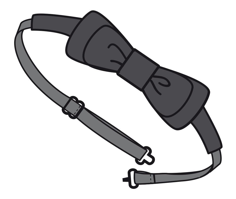 Ampliar Imagen : Pajarita Unisex Bow - Camareros - Gourmet - MARCA