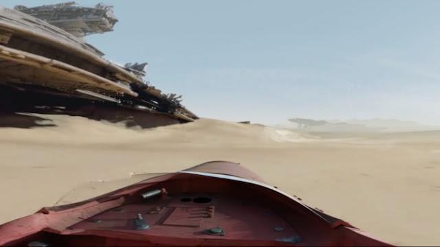 Espectacular avance de 360º de 'Star Wars: El despertar de la Fuerza'