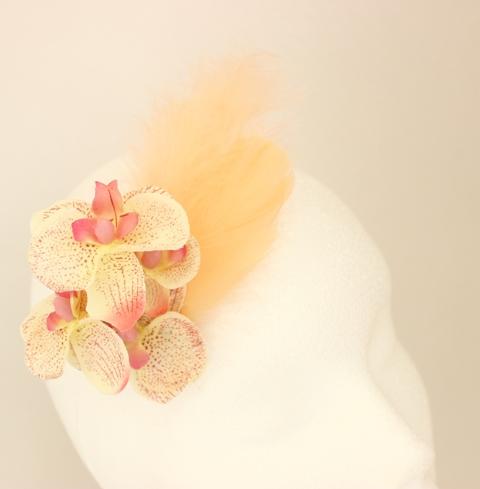Colección Orquídea - Tocado Beige