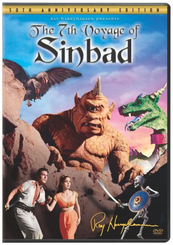 THE 7th VOYAGE OF SINBAD - SIMBAD E A PRINCESA - 1958