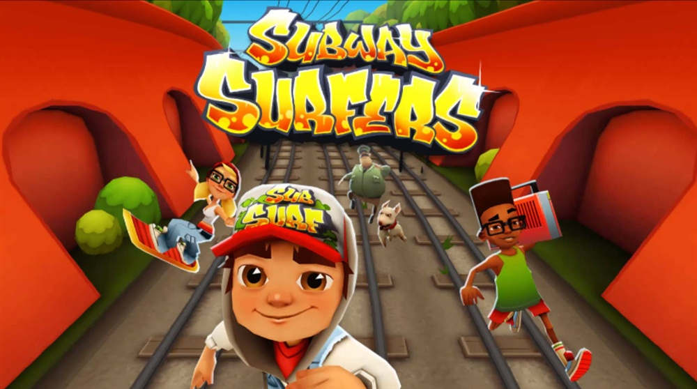 Subway Surfers Game Free Download Poster