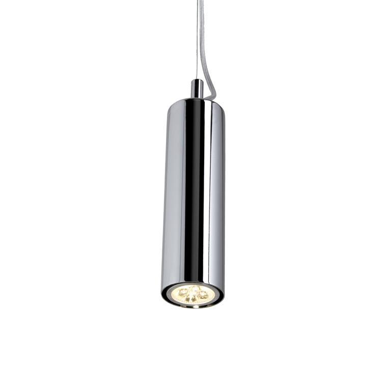 Cily cromo lampadario sospensione olux illuminazione idea arredo - Lampade a sospensione per bagno ...