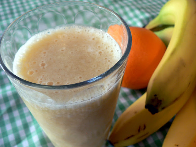 Orange Pineapple Banana Smoothie - Bless This Mess
