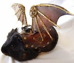 THE STEAMPUNK BAT-GUINEA-PIG