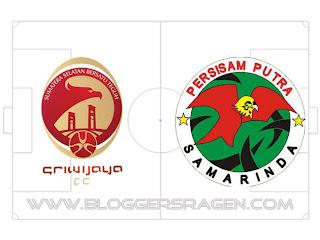 Pertandingan Sriwijaya FC vs Persisam Putra Samarinda