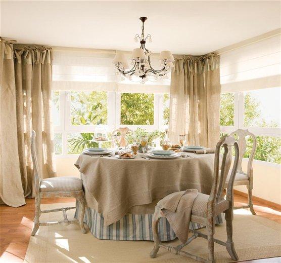 Entre tiempos y bohemia comedores con sillas clasicas for Sillas comedor elegantes