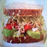 Weight loss recipes : California Club Sandwich