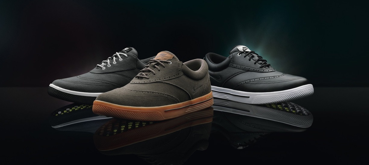 6a1dd3ad7f77 Nike Golf s Lunar Swingtip shoe pays homage to the wingtip design