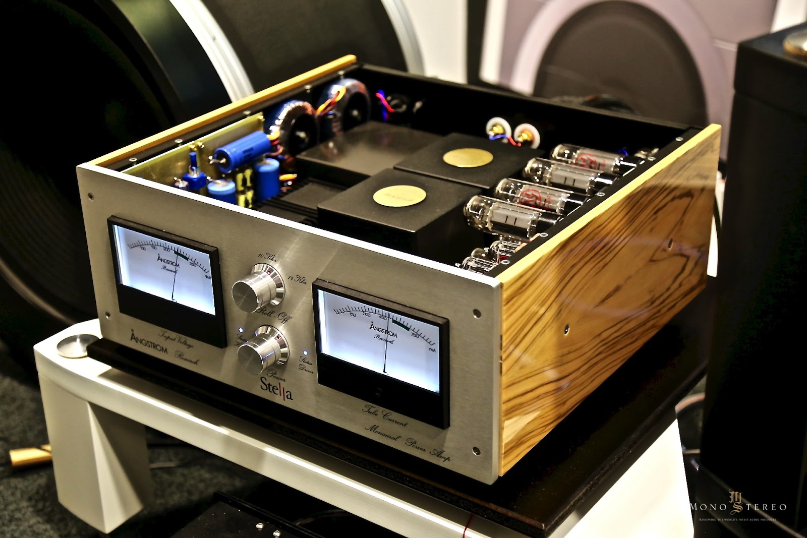 High End Audio : Mono and stereo high end audio magazine Ångstrom research