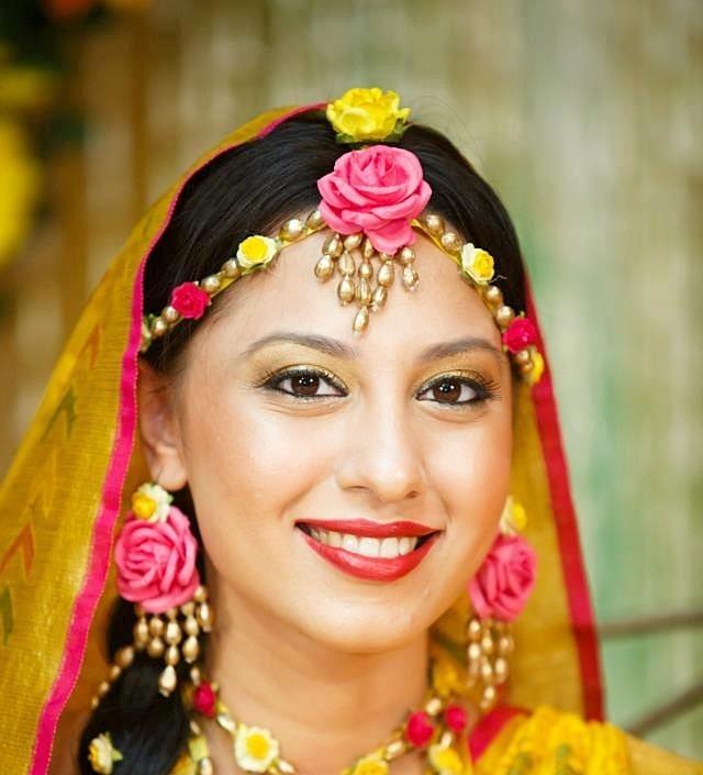 Bridal Makeup Flower Making : Indian beauty fashion lifestyle makeup